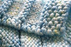 Free Knitting Pattern: Stripy Cozy Baby Blanket