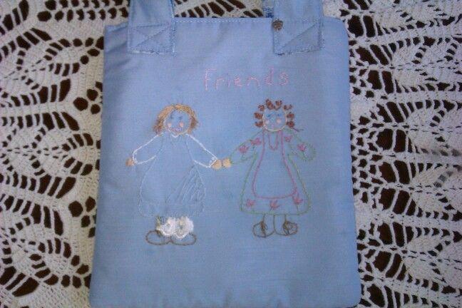 """Little girls bag """"friends"""""""