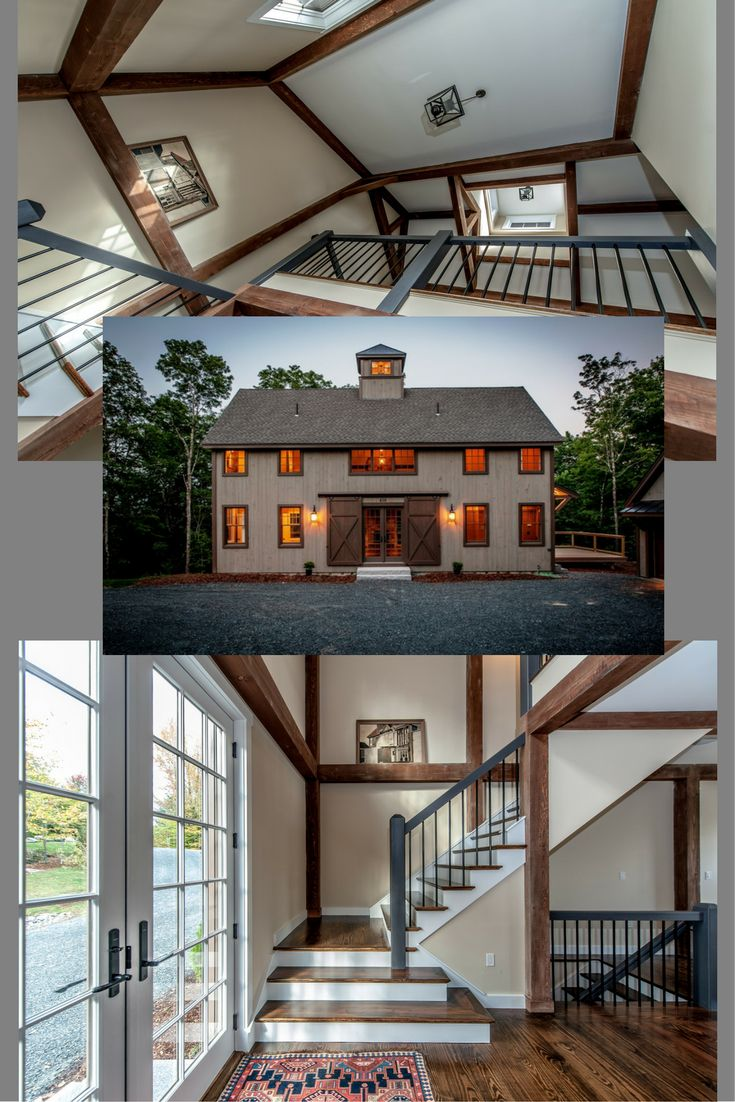 1000 ideas about post and beam on pinterest cedar homes for Post and beam barn plans