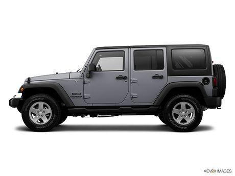 2015 Jeep Wrangler Unlimited (Billet Silver)