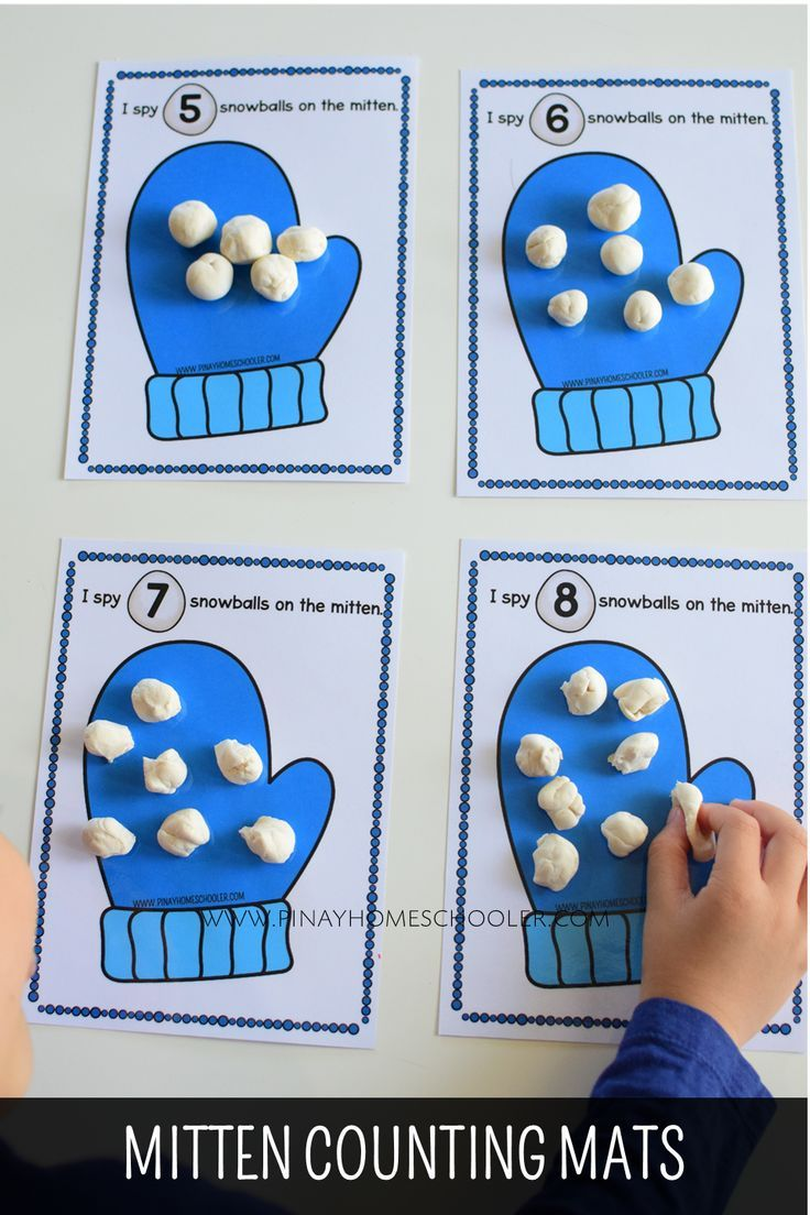 Winter Themed 1 10 Counting Activities Winter Activities Preschool Winter Math Activities Math Activities Preschool [ 1104 x 736 Pixel ]