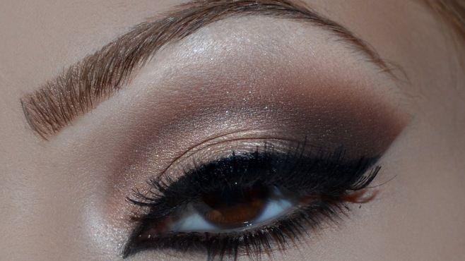 Kahverengi Tonlarında Arap Göz Makyajı Yapımı - Özel günler veya gece için uygulayabileceğiniz kahverengi tonlarında arap göz makyajı tekniği (Arabic Holiday Makeup Video)