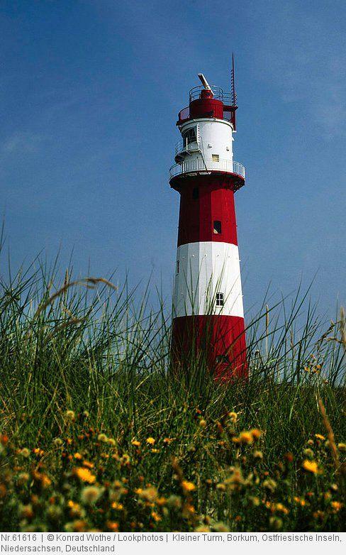 Kleiner Turm, Borkum, Ostfriesische Inseln, Niedersachsen, Deutschland