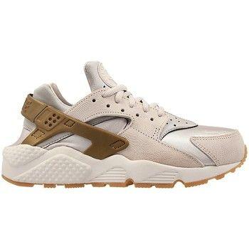 Nike W Air Huarache Run Prm Suede - Couleur : Blanc-Gris-Marron - Chaussures Femme 98,00 €