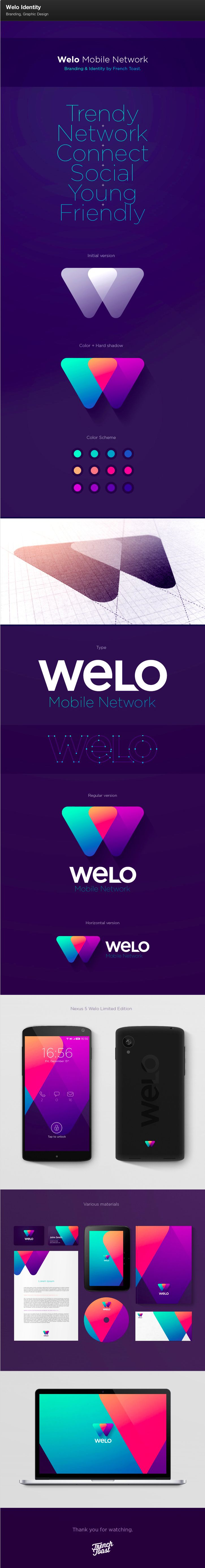 http://www.behance.net/frenchtoast welo / french toast creative / branding / brand identity / logo design