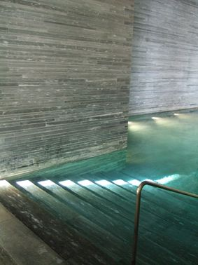 Therme Vals Spa, Switzerland by Peter Zumthor