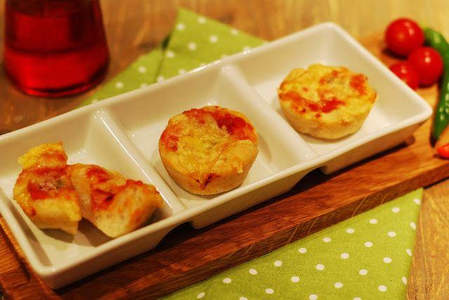 Lillians Matblogg: Pizza i muffinsform