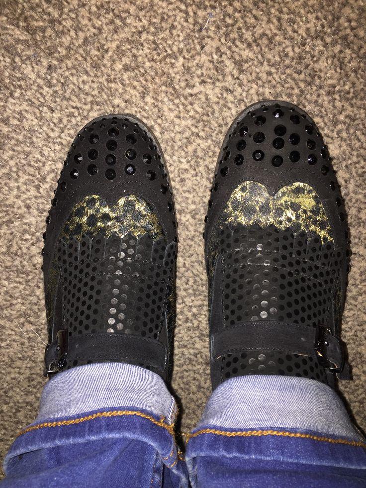 Sparkley shoe addiction #newshoes