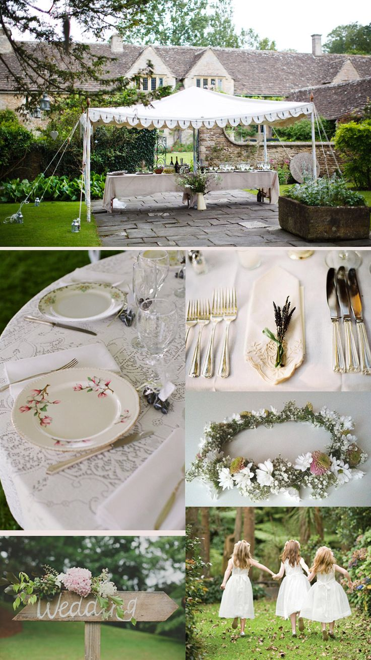 Garden Party Wedding | English Garden Party Wedding | Whiter Than White Weddings | UK Wedding ...
