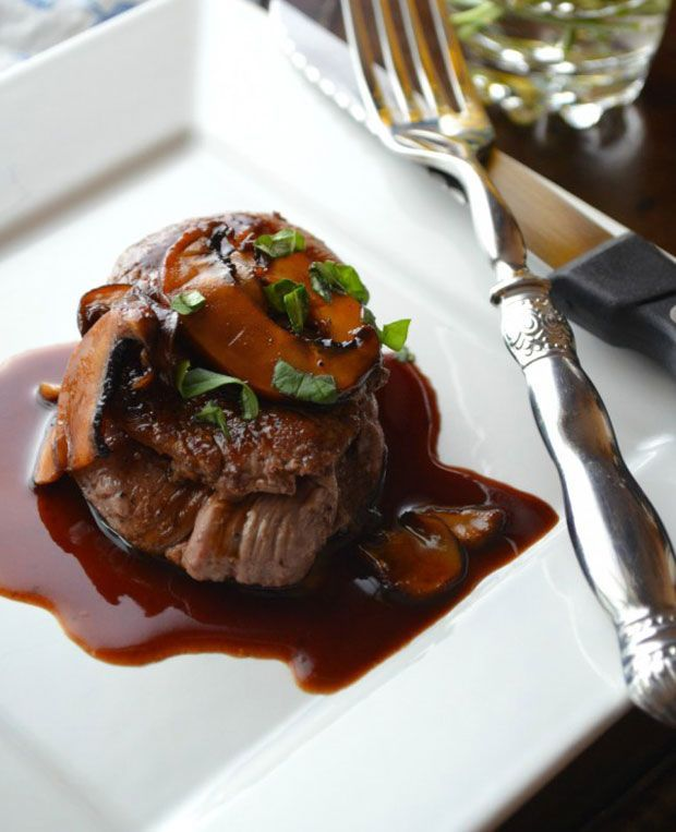 Beef Tenderloin Medallions with Madeira Wine Pan Sauce Recipe - RecipeChart.com