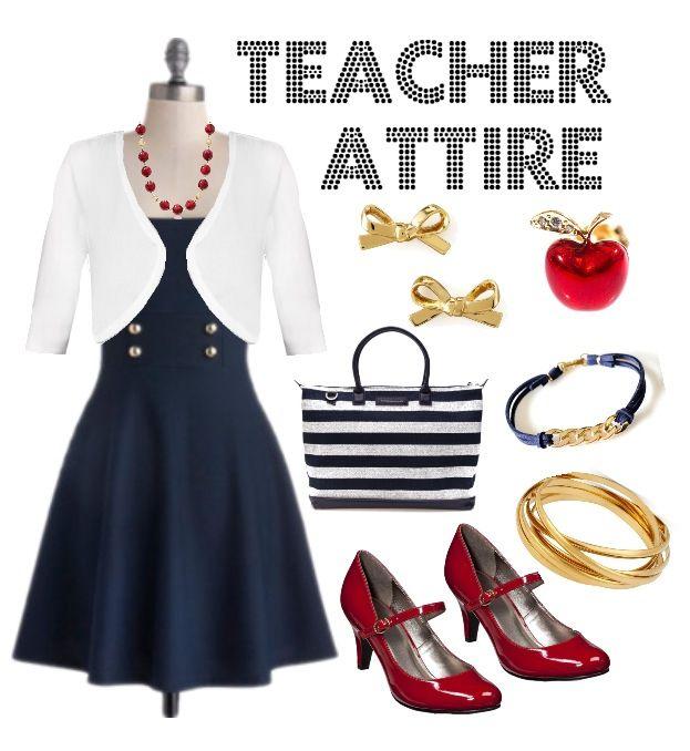 Teacher Outfit - Teacher Clothes - Wear to Work - Teacher Attire Series:  Outfit 18