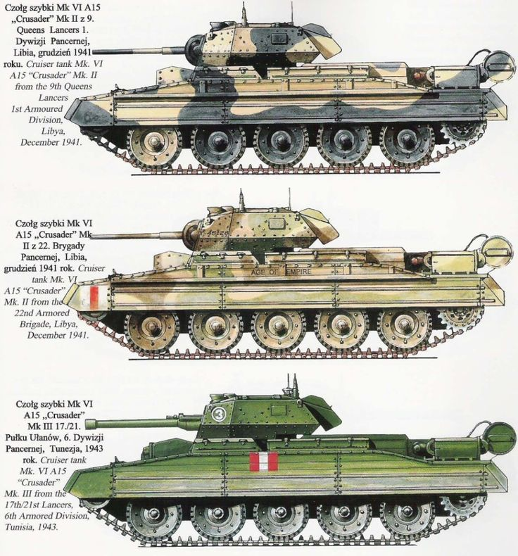 "The British Cruiser tank ""Crusader"""