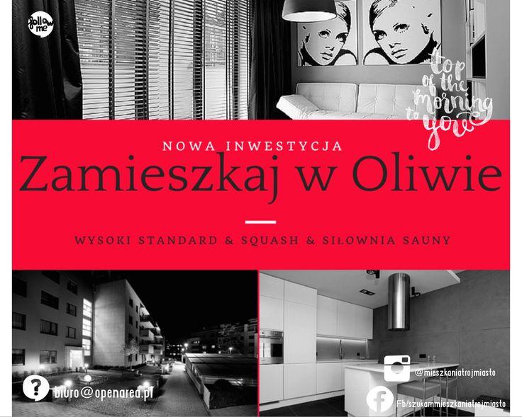 Gdańsk, Oliwa. Prestiżowe, niewielkie osiedle, charakteryzujące się nowoczesną architekturą, subtelną kolorystyką elewacji i starannie dobranymi ekskluzywnymi elementami wykończeniowymi.  O osiedlu Budynki niskie, 4-piętrowe, o wysokim standardzie. Osiedle ogrodzone i monitorowane. Niewątpliwym atutem inwestycji jest ponad 400-metrowe wewnętrzne Centrum Rekreacji wyposażone między innymi w siłownię, kilka rodzajów saun oraz kort do squasha.  Lokalizacja: Inwestycja położona w centrum…