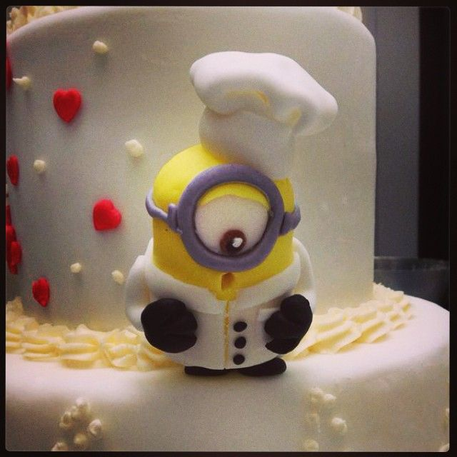 Chef Minion #dolcelab #firenze #cakedesign