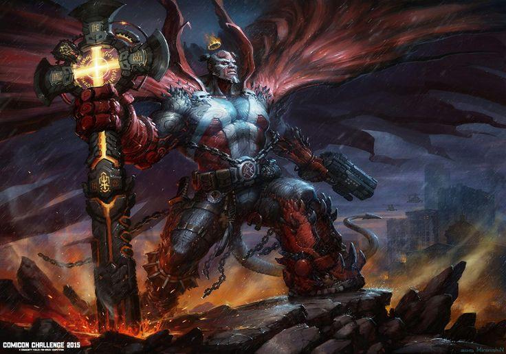 Hellboy spawn