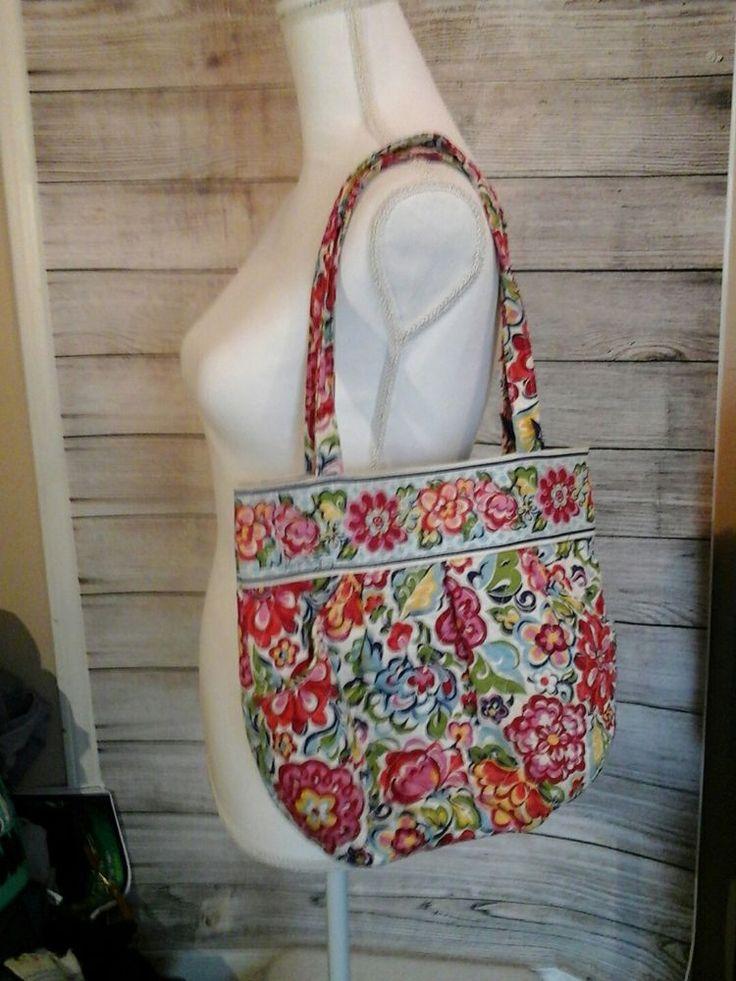 Vera Bradley Handbag Purse Morgan Hope Garden Retired #VeraBradley #ShoulderBag