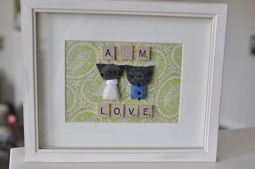 Handmade Wedding Gift Ideas Pinterest : homemade wedding gift Crafty Crafts Pinterest Homemade Wedding ...