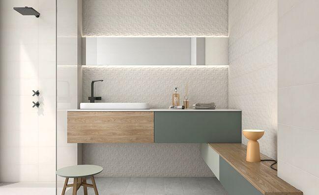 Mejores 7 im genes de ideas for small bathrooms en pinterest cuartos de ba os peque os - Revestimiento de banos pequenos ...