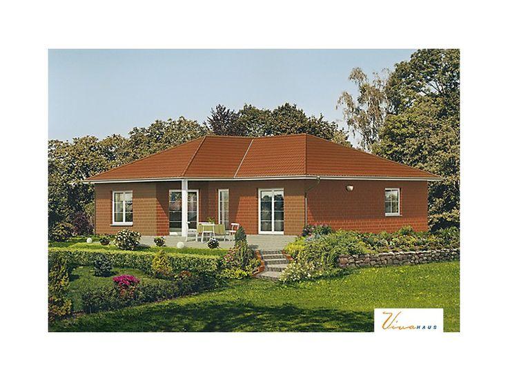 Kuckuckstein ii einfamilienhaus von viva massivhaus for Massivhaus bungalow