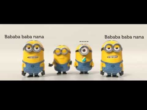 Minions - Banana Song [LYRICS][HD]. This is the lyric video with the right words.