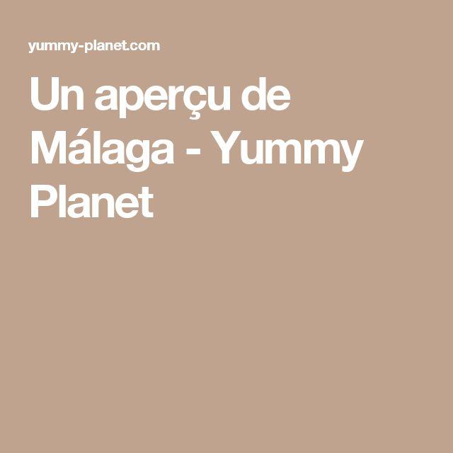 Un aperçu de Málaga - Yummy Planet