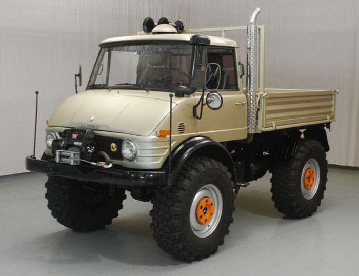 1974 Mercedes-Benz Unimog | I had several  Corgi Toys models of this when I was a teenager — simply my favourite truck (is it odd to have a favourite truck?)