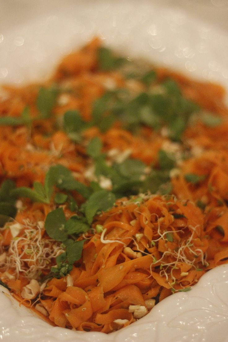 carpaccio de cenoura da miss vite