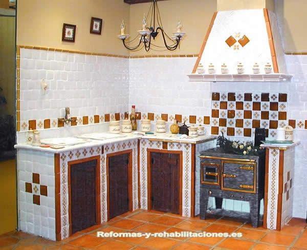 P es 1000 n pad na t ma muebles de cocina rusticos na - Fotos de azulejos de cocina ...