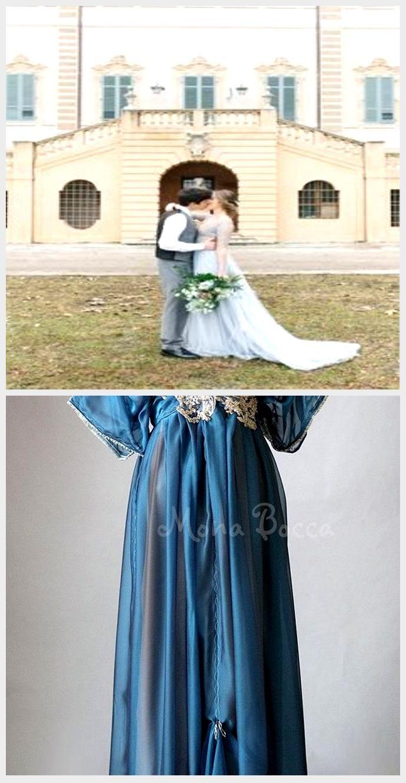 Wunderschöne winterblaue Hochzeit Inspiration Irene Fucci 16 Ein