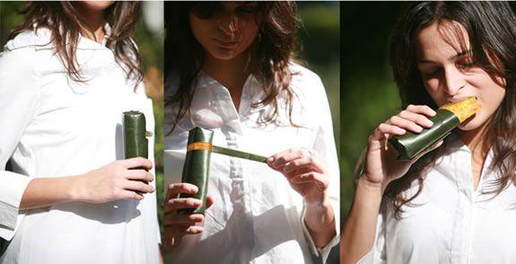 Eco Way-Ecological Take Away Packages :: hojas de plátano