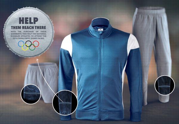 体の障害を一瞬だけ感じられるスポーツウェア。パラリンピック出場者を増やす奇抜なアイデアとは?   AdGang