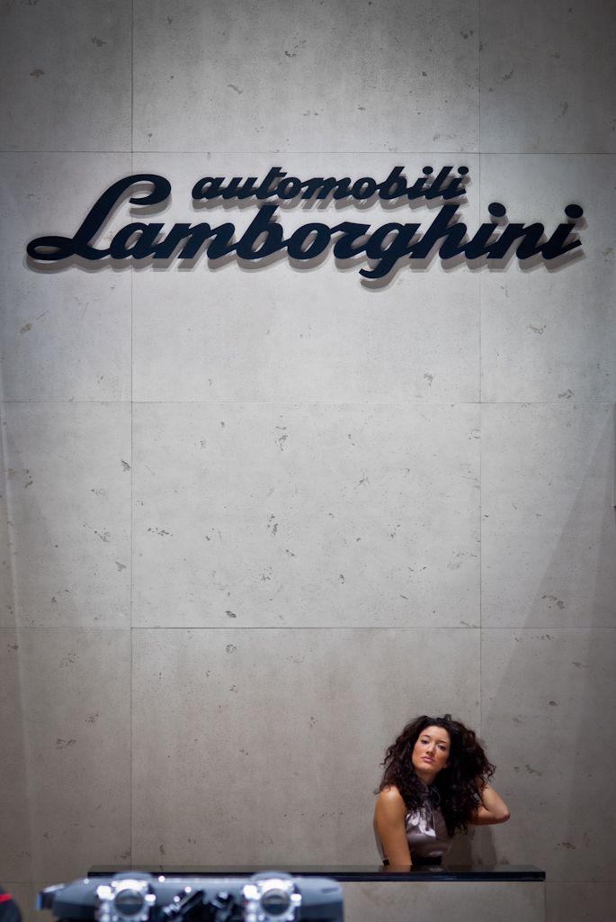Lamborghini stand at Geneva 2012 #girl #geneva #lamborghini more: http://premiummoto.pl/genewa2012/82-geneva-international-motor-show-alternatywnie