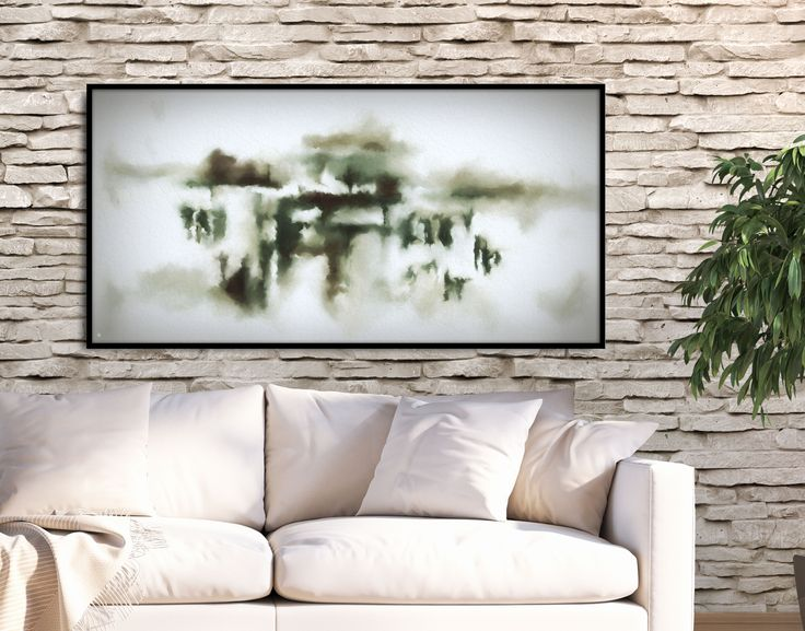 Feel inspired by a harmonious atmosphere! Shop original and art prints by FraBorArt. #walldecor #homedecor #interiordesign #painting #modernart #abstract #minimalist #digital #digitalart #art #landscape #saatchi #saatchiart #saatchiartist #saatchigallery #saatchiartilove
