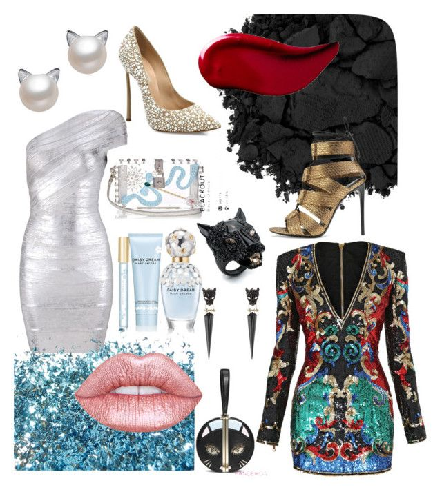 """""""We are all cats"""" by explorer-14768142065 on Polyvore featuring мода, Alexis Bittar, Dolce&Gabbana, Marc Jacobs, Casadei, Urban Decay, Kat Von D, Balmain, Diane Von Furstenberg и Tom Ford"""