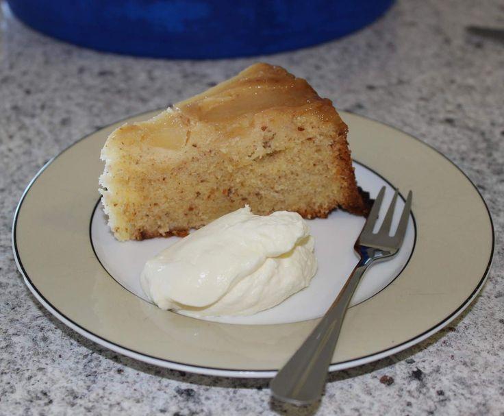 Recipe Pear & Almond Upside Down Cake by coulian - Recipe of category Baking - sweet