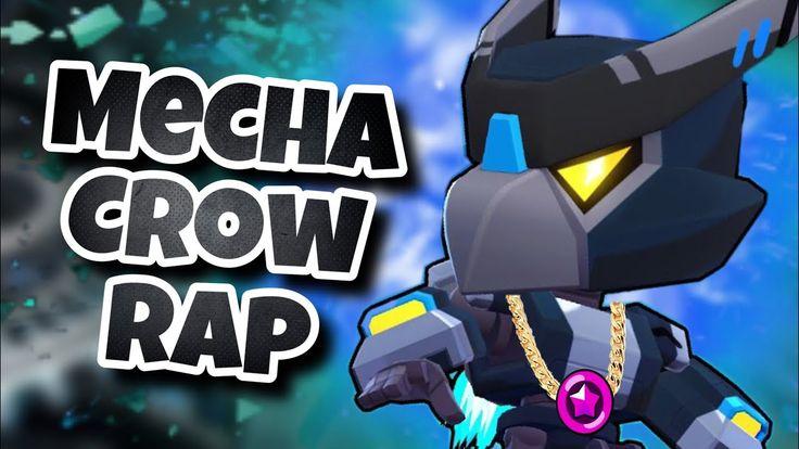 mecha crow rap  mecha crow voice remix  brawl stars song