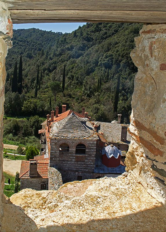 This is my Greece | Hilandar Monastery is a Serbian Orthodox monastery on Mount Athos