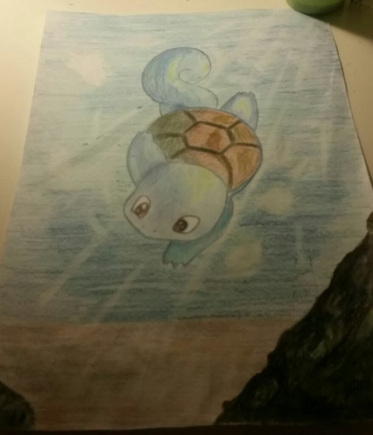 Just a tiny squirtle