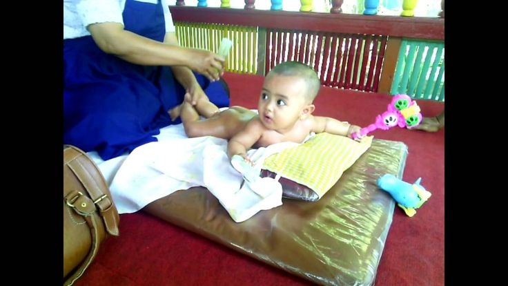 Traditional baby massage