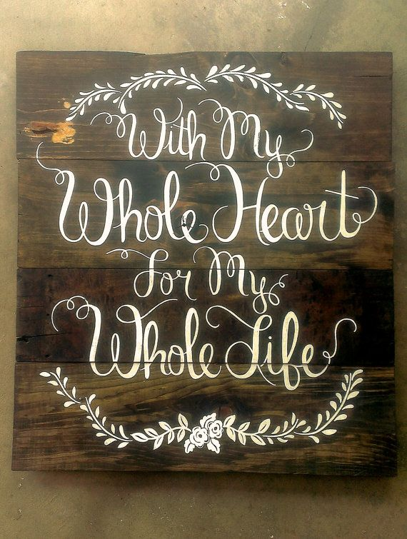 large CUSTOM hand painted wooden SIGN