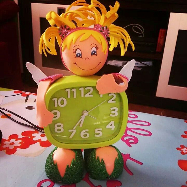 Fofucha reloj de Campanilla
