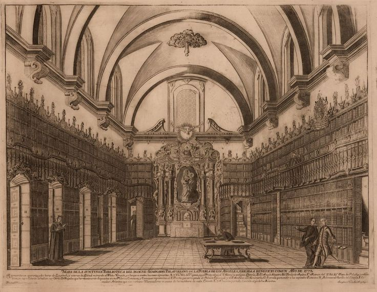 The Biblioteca Palafoxiana, in Puebla, founded on September 5, 1646, was the first public library in America.