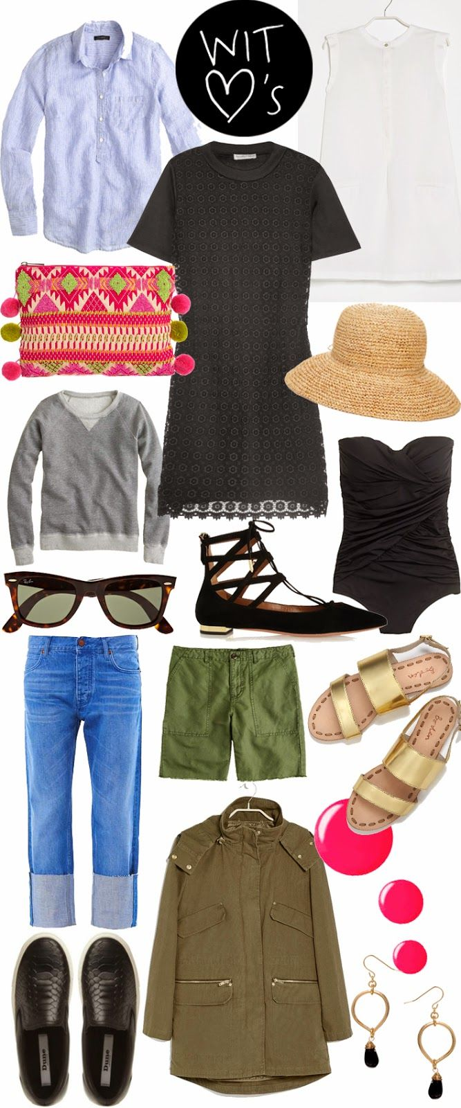 What to pack for a long week end at the UK sea sude