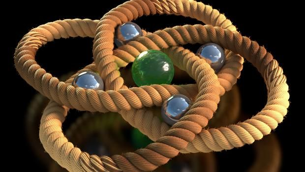 Científicos atan el nudo más apretado del mundo Representación de la estructura cristalizada del bucle de 192 átomos. El hierro (en púrpura), oxígeno (en rojo), carbono (gris metalizado) y cloro... http://sientemendoza.com/2017/01/13/cientificos-atan-el-nudo-mas-apretado-del-mundo/