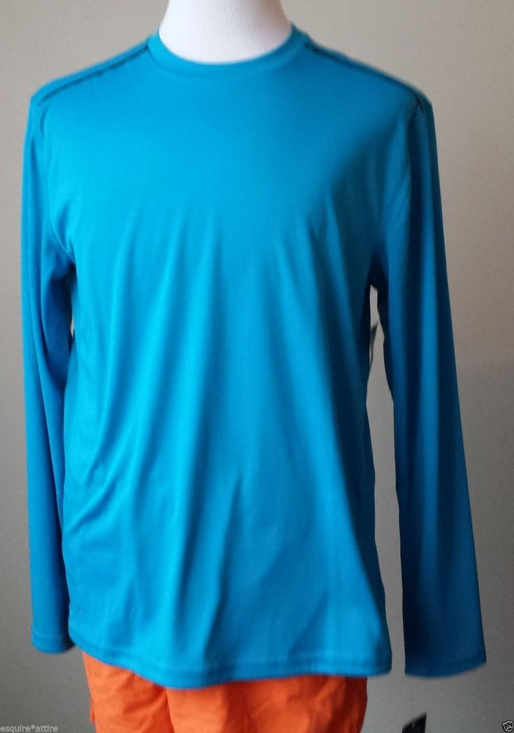 Layer 8 long sleeve blue size XL athletic #shirt quick dry with back ventilation visit our ebay store at  http://stores.ebay.com/esquirestore