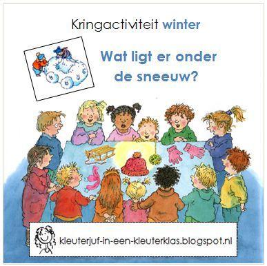 Kringactiviteit winter - Voelen: wat ligt er onder de sneeuw?