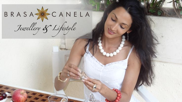 All unique natural creations fashioned by Brasa Canela jewelry designers