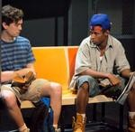 Christian Coulson and Amari Cheatom in Dutch Masters, 2011 at The Unicorn Theatre