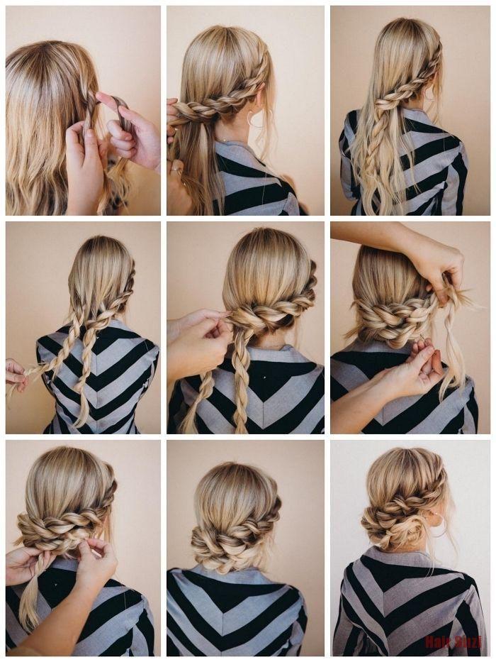 Comment faire un balayage sur cheveux court