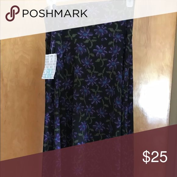 LuLaRoe Azure Size 2X NWT Beautiful LuLaRoe Azure New With Tags! Size 2XL! I am not a Consultant, I just have an insane amount of LLR and would like to offer this item at a savings!  Smoke Free Home! LuLaRoe Skirts A-Line or Full #AmIInsane?